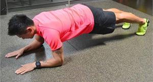 核心肌群練4腹肌 正面搭橋防傷害