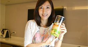 玻璃罐沙拉風靡!小資女瘦身最夯