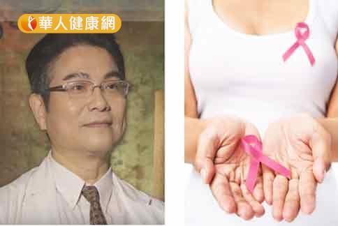 姚忠瑾医生(如图)强调,乳癌早期发现,治愈率高达99%左右。(图片提供/中山大学附设医院)