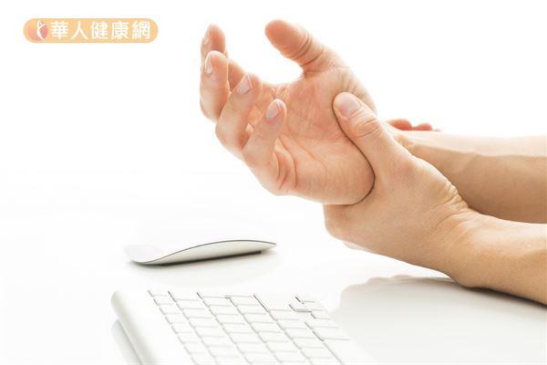 手指麻痛像被電 2動作改善腕隧道症候群