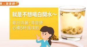 就是不想喝白開水~夏日消暑、清宿便,必備5杯風味飲