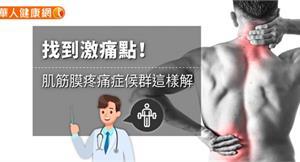 找到激痛點!肌筋膜疼痛症候群這樣解