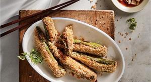 氣炸鍋好夯,食物怎麼料理才美味?炸鮪魚辣椒好吃又好做