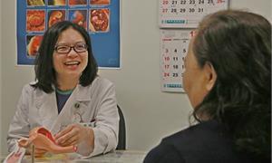 子宮內膜異常增厚!軟式子宮鏡免麻醉無痛發現病灶,揪出早期子宮內膜癌