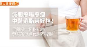 減肥愈喝愈瘦,中醫消脂茶好神!早餐喝一杯枸杞茶、黃耆茶促進代謝不復胖