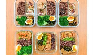 誰說減肥必吃仙女餐?一次做好6個便當,3組合海鮮、高蛋白蔬食隨意挑