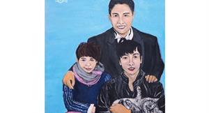 兒子腦癌、先生肺腺癌、她得大腸癌,全家都得癌…她用畫筆補缺憾的生命故事