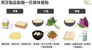 豆製品是「田中肉」!幫你補足蛋白質和鈣質,一日菜單讓你輕鬆補對營養