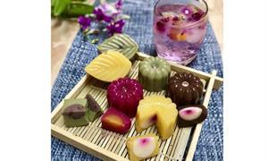 中秋月圓人不圓!營養師教你用火龍果入菜,DIY低卡花彩繽紛晶凍月餅