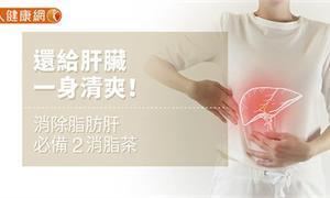 【影音版】還給肝臟一身清爽!消除脂肪肝必備2消脂茶