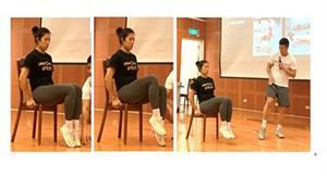 甩開腰痠背痛、瘦小腹!健身教練推荐3招椅子運動,加強核心肌群