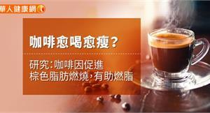 咖啡愈喝愈瘦?研究:咖啡因促進棕色脂肪燃燒,有助燃脂