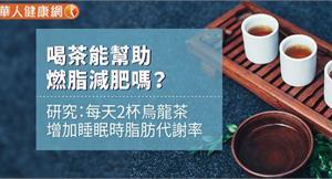 喝茶能幫助燃脂減肥嗎?研究:每天2杯烏龍茶增加睡眠時脂肪代謝率