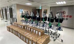 賈永婕募到252台「救命神器」!指揮中心:已採購500台高流量氧氣鼻管系統