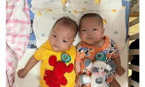 早產巴掌姐妹花僅570克、830克,間隔生產提高存活率!馬偕周產期「疫」同照護